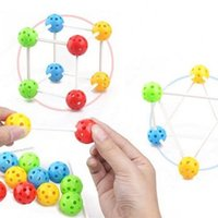 Wholesale games improve resale online - Baby Assembled Toys Improve The Ability To Observe Large Size Inserted Bead Intelligence Toy Early Childhood DIY Game bx W