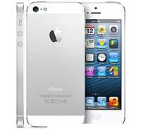 iphone 64gb kilidi toptan satış-Yenilenmiş Unlocked Telefon Orijinal Apple iPhone 5 A6 iOS 8.0 Çift çekirdekli 16 GB / 32 GB / 64 GB 8MP Cep Telefonu DHL
