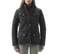 gesteppte jackenart großhandel-Gute Marke Dunnan Steppjacke Frauen Hohe Qualität Street Style Argyle Damen Parka Plus Size Kleidung