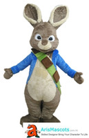 Wholesale peters rabbit - Peter Rabbit mascot costume for party cartoon mascot costumes custom made mascots character design and production quality mascot company