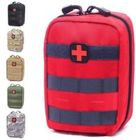 Wholesale camp sack - Empty Bag for Emergency Kits Tactical Medical First Aid Kit Waist Pack Outdoor Camping Hiking Travel Tactical Molle Pouch Mini