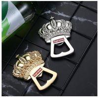 открывашка для пива оптовых-хип-хоп Нью-Йорк SUPREEME логотип свадьба сувениры подарки Золотая Корона открывалка для бутылок пива открывалка для бутылок свадебный подарок партии пользу