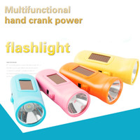 portable crank flashlight Australia - Mini LED Solar Flashlight USB Charging Hand Crank Power Torch Energy Saving Outdoor Home Portable Emergency Lighting Lantern