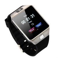 цена мобильного телефона оптовых-Взрыв DZ09 смарт-часы Dz09 Часы Браслет Android часы Smart SIM интеллектуальный мобильный телефон сна государство смарт-часы