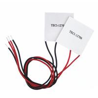 módulos de refrigeración al por mayor-TEC1-12706 12V Disipador térmico Refrigerador termoeléctrico Módulo de placa Peltier B00127 BARDE