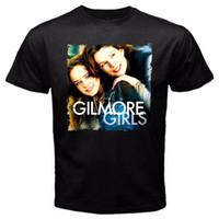 45b80f13f7d2 Logo T Shirts Gilmore Girls Stars Hollow Luke Diner Women s Junior T-Shirt  Black Men s O-Neck Short Graphic T Shirts
