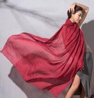 шарф hijab мусульман освобождает перевозку груза оптовых-Free shipping 30 Colours Plain Cotton Viscose Touch Polyester Scarf Muslim Hijab Head Wrap Quality Scarves Wholesale Retail