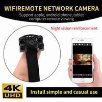 ir kamera modülü toptan satış-IR Gece Sürümü HD 4 K 1080 P Taşınabilir Mini Kamera Wifi Dijital Video Kaydedici DIY Modülü Kamera Mini DV IOS Android Telefon APP Uzaktan