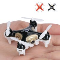 Wholesale Rc Helicopter Small - Free Shipping Drone Cx-10c Small 4Axis Camera Drone RC Helicopter Kids Toys