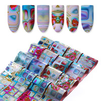 Wholesale diy foil art - Starry Sky Nail Foils Set Nail Art Transfer Stickers Kit Diy Nails Manicure Tips Decoration