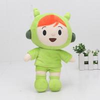 Wholesale pocoyo toys - 23cm Cartoon Pocoyo plush toys pocoyo girl friend nina cute stuffed animal dolls for kids children