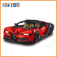 Wholesale model block car for sale - Group buy DHL ing Technic The Bugatti Chiron Racing Car Sets Model Building Block Brick Toys For Children Birthday Gift