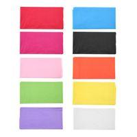 lila tischgewebe großhandel-10 Farben Kunststoff Rechteck Tischdecke Abdeckung für Camping Hochzeit Catering Party Hochzeit Dekoration Tischdecke für Tisch