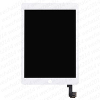 Wholesale ipad lcd touch screen - New LCD Display Touch Screen Digitizer Replacement Assembly for iPad Air 2 free Shipping