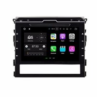 "Wholesale gps for toyota land cruiser - 1024*600 2GB RAM Quad Core 9"" Android 7.1 Car DVD Player for Toyota Land Cruiser 2016 With GPS Radio Bluetooth WIFI 16GB ROM DVR"