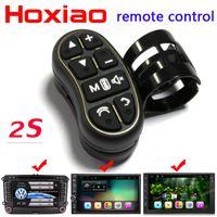 dvd leve venda por atacado-GPS carro volante botão controle remoto luzes de navegação do carro DVD / 2 din android Bluetooth sem fio Universal controle remoto