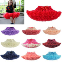Wholesale ball ballet online - Child Girl Tutu Fluffy Party Skirt Princess Kid Ballet Pettiskirt Dancewear design Ballet Dancewear Tutu Skirt Dress KKA5768