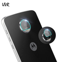 Wholesale guard cameras resale online - UVR For Moto Z Z Play Z2 Play Tempered Glass Screen Protector Film Back Camera Lens Full Cover Soft Film Guard