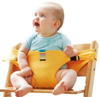 correas para asientos infantiles al por mayor-Silla de bebé Portátil Cinturón de seguridad Infantil Asiento Producto Niño Alimentación Almuerzo Seguridad Trona Correa para el hombro Silla infantil asiento Cinturón BKS02