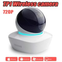 Wholesale night security camera wireless - TP1 wireless network baby monitor PTZ 720P multi-functional alarm Surveillance 360 degree Home security WIFI IP camera
