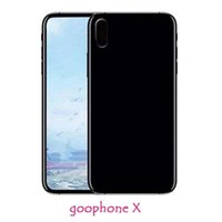 Wholesale ram for cell phone online - Goophone IX Goophone X Smartphone MTK6580 Quad Core GB RAM GB ROM Face Touch MP Show Fake G LTE Unlocked IX Cell Phones