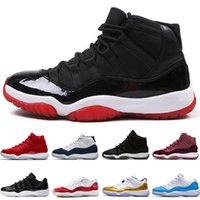 Wholesale night baseball - 11 11s mens basketball Prom Night Gym Red Midnight Navy GS PRM Heiress Black Stingray shoes Low Easter Barons Varsity Red men sport sneakers