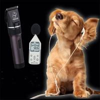 Wholesale pet grooming scissors sets resale online - electric pet hair trimmer ma li on battery ceramic scissor dog clipper teddy fur haircut razor cat grooming comb cutting kit