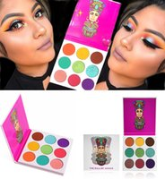 Wholesale Pearls Place - In stock New Juvia's Place Zulu Palette nubian EyeShadow Palette Cleopatra eyeshadow 9 Color Shimmery Pearl Swatches Free shipping