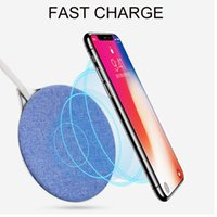 Wholesale Charging Pad For Android - Fast Wireless Charger QI Wireless Charging Pad for iPhone X 8 Plus Samsung Galaxy Android Charger OTH183