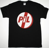 PIL PILLIC IMAGE LIMITED LOGO POST PUNK ALUNATIVE JOHN DAYONON NEW BLACK T-SHIRT O-Fashion عارضة عالية الجودة
