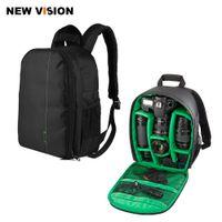 andere kamera großhandel-Kameratasche Wasserdichte Kameratasche mit Stativ für SLR, DSLR, spiegellose Kamera, Blitz und anderes Zubehör
