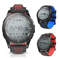 Wholesale no.1 smart watch resale online - 2018 Fashion NO F3 Smart Watch Bracelet IP68 waterproof Smartwatches Outdoor Mode Fitness Sports Tracker Reminder Wearable Devices