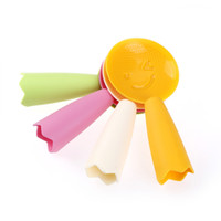 Wholesale korean cute kitchen resale online - New Special Style Korean Cute Lovely Fashion Ladle Non Stick Rice Paddle Meal Spoon Kitchen Tool Kitchen Supplie