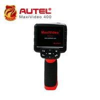 autel kamera großhandel-100% ursprüngliches Autel Maxivideo MV400 Digital Videoskop mit 5.5mm Inspektionskamera MV 400 DHL geben Verschiffen frei