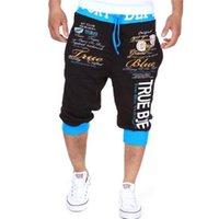 erkekler jogger pantolon toptan satış-2017 Yaz Spor Erkek Şort Erkek Bodybuildind Adam Şort Jogger Crossfit Pantolon için Rahat Şort marka giyim Kısa Pantolon