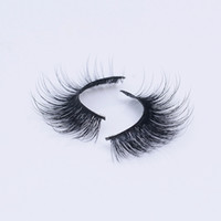 Wholesale Fur Manufacturers - 1pair Fur Mink False Eyelashes Eyes Makeup Handmade mink handmade natural 3D-39 models Lashes eyelash manufacturers Beaux Arts promotional