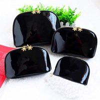 Wholesale luxury xmas gifts for sale - Snowflake Cosmetic Case Bags Luxury Makeup Organizer Bag Wash Bag Cutch Change Purse Tote Xmas Gifts HH7