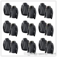 ingrosso giacca di brunetta xxl-Cardinals Packers Falcons Browns Panthers Broncos Cowboys Lions Salute al servizio Prestazioni giocatore Felpa con cappuccio Giacche Felpe