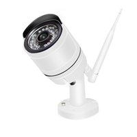 ingrosso 4ch cctv hdd 1tb-4CH CCTV Wireless 960P NVR 4PCS 1.3MP IR Outdoor P2P Wifi IP CCTV Telecamera di sicurezza Kit di sorveglianza del sistema con 1 TB HDD