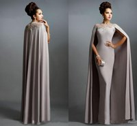 Long cape dress uk size