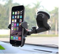 гибкая подставка для iphone оптовых-Универсальный гибкий длинный автомобиль-стайлинг телефон автомобильный держатель стенд поддержка телефон Voiture для iPhone Samsung Xiaomi Держатель телефона