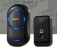 Wholesale rings range for sale - Group buy Aibont Waterproof Wireless Door Bell Chime ring EU Plug US plug M long range smart Doorbell button receiver V V LED light