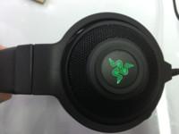 pc gaming headset surround sound großhandel-Razer Kraken 7.1 V2 Surround-Sound-Gaming-Headset, brandneuer Gaming-Kopfhörer mit Chroma-USB-Stecker, kann nur mit der USB-Version des PCs verwendet werden
