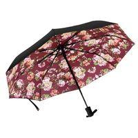 ingrosso sacchetti di regalo pieghevoli-lusso modello classico elegante lettera logo chiave auto ombrello per le donne 3 volte ombrello di lusso con grande borsa ombrello pioggia regalo VIP