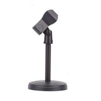 desktop-mikrofon steht großhandel-Neue Universal clamp Portable Desktop Tisch Mikrofon Clamp Clip MIC Ständer Halter für Computer Konferenz Studios Mikrofon