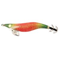 Wholesale squid lead lures for sale - 3 Squid Jig wood shrimp Luminous eyes body lead weight Fishing Lures baits EMS hot