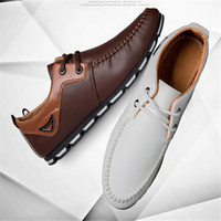 Wholesale Men Shoes Trade - Sales!!!!2018 new white shoes casual shoes male business bean spring foreign trade explosion models shoes