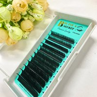 Wholesale Private Single - Seashine Private Label Individual Eyelashes Extension 8-15 single Length All Curl HandMade Lashes Extension Soft Lash Free Shipping