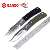Wholesale ganzo knives - Firebird Ganzo G7471 HRC C blade G10 handle folding knife outdoor tactical camping EDC tool Hunting Pocket Knife