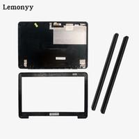 dizüstü için menteşeler toptan satış-Laptop kapağı ASUS K555L V555L FL5800L Için A555L X555L VM590L X555LA LCD Arka Kapak / LCD ön çerçeve / Menteşeler kapak 13NB0621AP0811